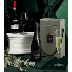 Harrods Luxury Champagne and Port Hamper found on Bargain Bro UK from harrods.com