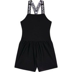 Balmain Kids Logo-Strap Playsuit found on Bargain Bro India from Harrods Asia-Pacific for $275.14