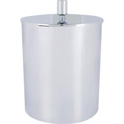 ZODIAC Cylinder Leather Cover Bathroom Bin found on Bargain Bro UK from harrods.com