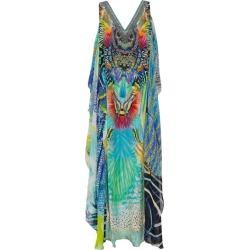 Camilla Abstract Print Beach Dress found on MODAPINS from harrods.com for USD $532.92