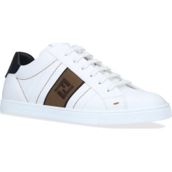 Fendi Leather Logo Sneakers found on Bargain Bro from Harrods Asia-Pacific for USD $661.05