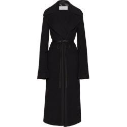 Valentino Leather-Belt Overcoat found on Bargain Bro UK from harrods.com