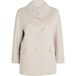 Max Mara Short Wool Coat found on Bargain Bro UK from harrods.com