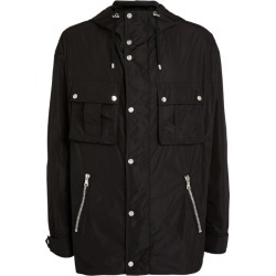 Balmain Hooded Logo Windbreaker Jacket found on Bargain Bro UK from harrods.com