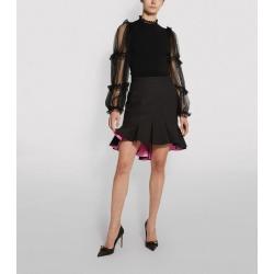 Alexander McQueen Bi-Colour Mini Ruffled Skirt found on Bargain Bro UK from harrods.com
