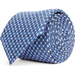 BOSS Silk Gingham Tie found on Bargain Bro UK from harrods.com