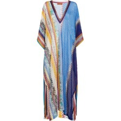 Missoni Patchwork-Detail Kaftan found on Bargain Bro from harrods (us) for USD $1,021.44