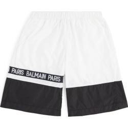 Balmain Kids Colour-Block Swim Shorts (8-16 years) found on Bargain Bro UK from harrods.com