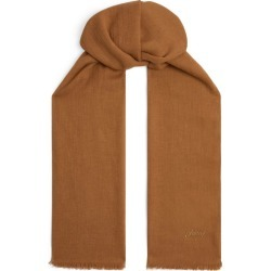 Brioni Vicuna Fringe Scarf found on MODAPINS from Harrods Asia-Pacific for USD $3603.27