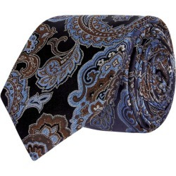 Eton Paisley Pattern Tie found on Bargain Bro from Harrods Asia-Pacific for USD $76.92