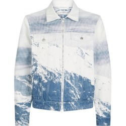 Billionaire Boys Club Mountain Zip-Up Denim Jacket found on MODAPINS from harrods.com for USD $428.56