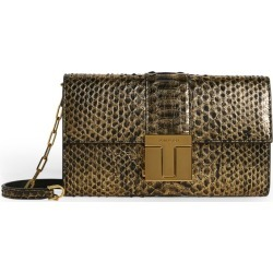 Tom Ford Python T Clasp Shoulder Bag found on Bargain Bro UK from harrods.com