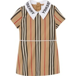 Burberry Kids Cotton Icon Stripe Dress (6-24 Months) found on Bargain Bro UK from harrods.com