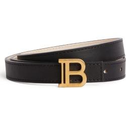 Balmain Leather Monogram Belt found on Bargain Bro UK from harrods.com