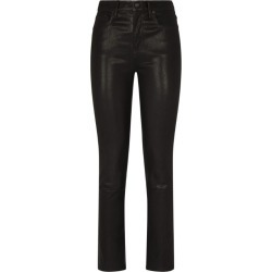 Citizens Of Humanity Leather Harlow Mid-Rise Skinny Jeans found on MODAPINS from Harrods Asia-Pacific for USD $1280.83
