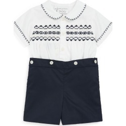 Rachel Riley Smocked Shirt And Shorts Set (3-24 Months) found on GamingScroll.com from Harrods Asia-Pacific for $142.90