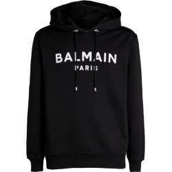 Balmain Flocked Logo Hoodie found on GamingScroll.com from Harrods Asia-Pacific for $590.76