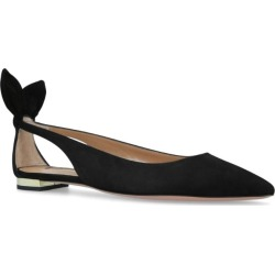 Aquazzura Suede Deneuve Ballet Flats found on MODAPINS from harrods (us) for USD $444.00