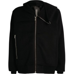 Rick Owens Hooded Bomber Jacket found on Bargain Bro UK from harrods.com