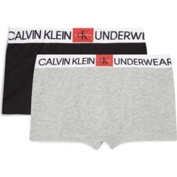 Calvin Klein Kids Packof 2 Monogram Boxer Briefs (8-16 Years) found on Bargain Bro UK from harrods.com