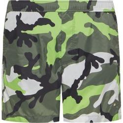 Valentino Camouflage Print Swim Shorts found on Bargain Bro UK from harrods.com