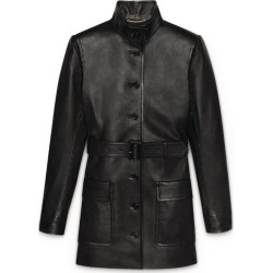 Saint Laurent Belted Leather Jacket found on GamingScroll.com from Harrods Asia-Pacific for $5489.18