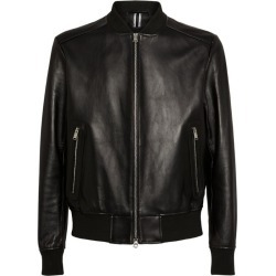 Boss Leather Bomber Jacket found on GamingScroll.com from Harrods Asia-Pacific for $658.59