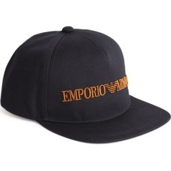Emporio Armani Embroidered Logo Cap found on Bargain Bro UK from harrods.com