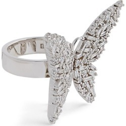 Suzanne Kalan White Gold And Diamond Butterfly Ring found on Bargain Bro from Harrods Asia-Pacific for USD $9,616.41