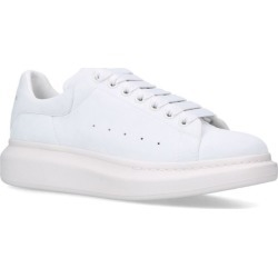 Alexander McQueen Leather Show Sneakers found on Bargain Bro UK from harrods.com