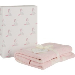 Jellycat Bashful Unicorn Blanket (100cm x 100cm) found on Bargain Bro UK from harrods.com