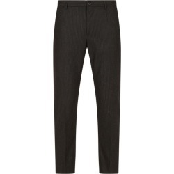Dolce & Gabbana Pinstripe Stretch-Wool Trousers found on Bargain Bro UK from harrods.com