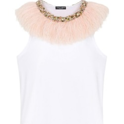 Dolce & Gabbana Embellished Sleeveless Top found on Bargain Bro UK from harrods.com