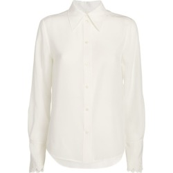 Chloé Embroidered Cuff Blouse found on Bargain Bro from harrods.com for £754