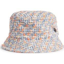 Maison Michel Axel Tweed Bucket Hat found on Bargain Bro UK from harrods.com