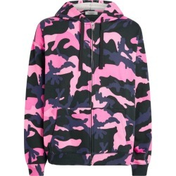 Valentino Camouflage Print Zip-Up Hoodie found on Bargain Bro UK from harrods.com