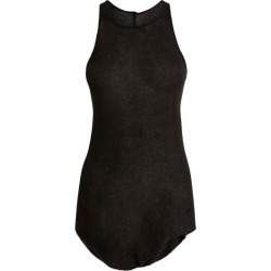Rick Owens Ribbed Tank Top found on Bargain Bro from Harrods Asia-Pacific for USD $176.88