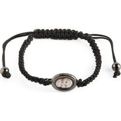 Amedeo Skull-Detail Macramé Bracelet found on MODAPINS from harrods.com for USD $277.87