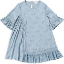 Stella McCartney Kids Pleated Horse Print Dress (2-14+ Years) found on Bargain Bro UK from harrods.com
