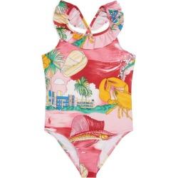 Ralph Lauren Kids Lobster Print Swimsuit (5-7 Years) found on Bargain Bro UK from harrods.com