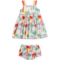 Stella McCartney Kids Palm Print Dress with Bloomers (3-36 Months) found on Bargain Bro UK from harrods.com