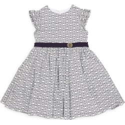 Elie Saab Belted Monogram Dress (4-14 Years) found on MODAPINS from harrods.com for USD $677.72