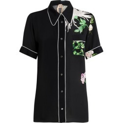 Nº21 Floral Print Pyjama Shirt found on Bargain Bro India from Harrods Asia-Pacific for $410.27