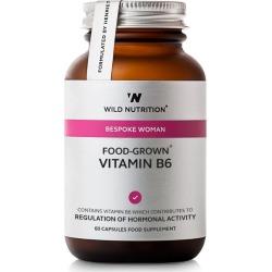 Wild Nutrition Bespoke Woman Food-Grown Vitamin B6 (60 Capsules)