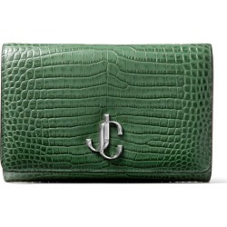 Jimmy Choo Croc-Embossed Varenne Clutch Bag found on Bargain Bro UK from harrods.com