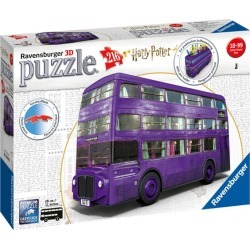 Harry Potter Knight Bus 3D Puzzle (216 pieces) found on Bargain Bro from harrods.com for £28