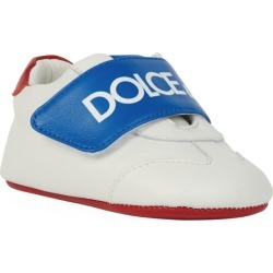 Dolce & Gabbana Kids Leather Logo Strap Booties found on Bargain Bro UK from harrods.com