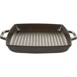 Staub Black Double Handle Square Grill (33Cm X 33Cm) found on Bargain Bro from Harrods Asia-Pacific for USD $179.59