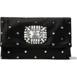 Jimmy Choo Satin Embellished Titania Clutch Bag found on Bargain Bro UK from harrods.com