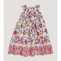 Ermanno Scervino Junior Floral Smock Dress found on MODAPINS from harrods.com for USD $174.24